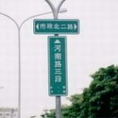 附掛式路名牌