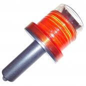 SH-SL21WHR2 LED太陽能握把式警示哈雷燈  說明: 太陽能供電 有紅色、黃色、綠色可供選購