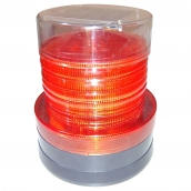 SH-SL21SHR2 LED太陽能磁吸式警示哈雷燈  說明: 太陽能供電 底盤附磁鐵 有紅色、黃色、綠色可供選購