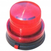SH-L28 小型LED磁吸警示燈3V  說明: 燈殼直徑9公分 3號電池2顆 紅 / 黃 / 藍 / 綠