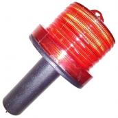 SH-SL21WHR LED太陽能握把式警示哈雷燈  說明: 太陽能供電 有紅色、黃色、綠色可供選購