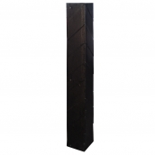 SH-R41 橡膠護角  規格:主體橡膠材質,78cm*9.5㎝*9.5㎝、厚度:1㎝ ( 誤差±3% )重2.3kg