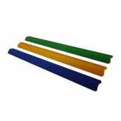 SH-PL60 PU發泡軟質防護條<P>規格:PU發泡材質 ( 顏色:黃/藍/綠/灰/紅/橘 )<P>約:長100㎝*5.8㎝*寬5.8㎝、厚度:1.8㎝ ( 誤差±3% )以矽利康固定