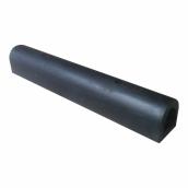 橡膠D型卸貨條15cm*15cm*100cm厚度:3㎝(±1%),重約15kg