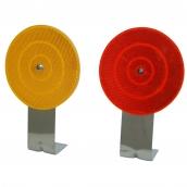 SH-D10A L型底座反光導標<p>說明:可搭配紅/黃反光片