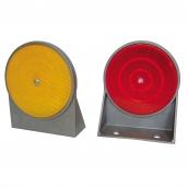 SH-D11A 鑄鋁式單斜面導標 ( 土地公 ) <p>說明:主體鑄鋁材質;雙平面;可搭配紅/黃反光片