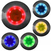 SH-DL77 太陽能不鏽鋼地燈  說明:有多種顏色供選擇<P> 尺寸(約):直徑200mm