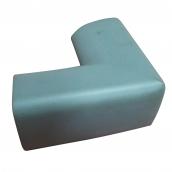 SH-RL66 橡膠發泡軟質防護角<P>規格:主體橡膠發泡材質<P>L:10.3㎝、W:10.3㎝、H:5.1㎝、最厚度:1.4 ( 誤差±3% )<br>另外有規格:長條形約100cmx5.1㎝x5.1㎝