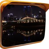 SHS-Z4560 不鏽鋼方型廣角鏡<p>規格:鏡面304不鏽鋼,背板鍍鋅鋼板,L:60㎝、W:45㎝