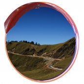 SHS-Z1000 不鏽鋼反射鏡<p>規格:鏡面304不鏽鋼,直徑約100㎝,背襯板鍍鋅鋼板<p>( 另有#304或#430不鏽鋼背板可選擇)