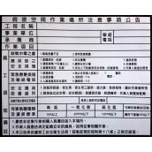 SH-GS7590PK 局限空間告示牌<br> 尺寸:90x75cm