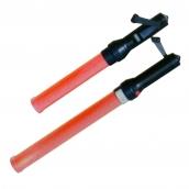 SH-L17 三段式指揮棒(手搖式充電)  說明: 總長40cm / 50cm 定光 / 閃爍 / 跑馬燈 無需使用電池