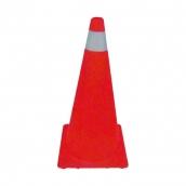 SH-1097 PE交通錐  說明:PE材質,綠 / 橘,重量約1.2~1.3kg