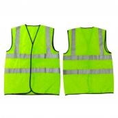 SH-RV08 美式單口袋反光背心-螢光黃綠