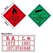 SH-DG01E工程級危險物品反光貼紙(30*30cm紅底黑字黑框)<br> SH-DG02E工程級危險物品反光貼紙(30*30cm綠底黑字黑框)<br> SH-DG03E工程級危險物品反光貼紙(30*60cm白底紅字紅框)<br>