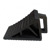 SH-R36 大型橡膠車輪塞<br>整體規格:長31㎝*寬12.5㎝*高18㎝,重約3.1KG
