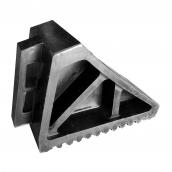 SH-R35 大型橡膠車輪塞<P>含把手-整體規格約:長27㎝*寬11㎝高17㎝ ( 誤差±3% )重量約3.2KG<P>於大型車停止時置於輪胎前後防止滑行