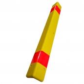 SH-PL79M PU軟質大型防護角 (包覆鍍鋅鐵片 )<P>規格:PU發泡材質 ( 顏色有多種可選 ),反光貼紙需另購不含貼<P>約:長100㎝*10㎝*10㎝厚度:1.8㎝ ( 誤差±3% )