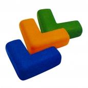 SH-PL60L PU發泡軟質防護角<P>規格:主體PU發泡材質<P>約:14.5㎝*14.5㎝*6.3㎝、最厚度:1.7 cm( 誤差±3% )