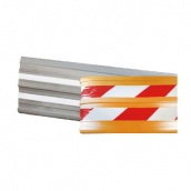 P1920 PVC車道護絛 規格:19*200cm±5% 顔色:黑灰/橘黃色