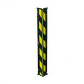 PL91M-90 防撞條<br> 尺寸:16x 100x 100x 900(mm)<br> 材質:彈性膠條+鋼板 一體成型<br> 顏色:黑色本體 / 黃、黑警示條/綠色螢光條   <br>
