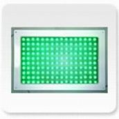 SH-519 LED面板式紅綠燈-綠 35.5cm*24.5cm*厚度2.5cm 變壓器另購