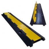 SH-R12239 橡膠小一線槽<br> 橡膠材質,黃色PVC蓋板<br>整體約 長99㎝*寬22㎝*高3㎝,重約4.5kg<br>內槽尺寸:約7㎝*1.7㎝