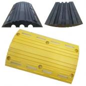 SH-R5030 橡膠減速墊線槽<br> 尺寸約:30×50×5cm,槽高約1.8cm