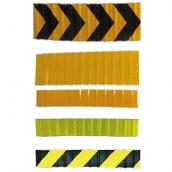 波浪板/護欄導引片 規格:0.4mm鋁板 15cm*85cm/30cm*85cm 超高/鑽石,黃色/黃黑/螢光綠 可加防貼膜