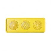 DP103 三聯式反光導標 規格:PE/錏板/鋁板/鑄鋁/ABS 15*40cm/15*45cm/20*50cm,可訂製