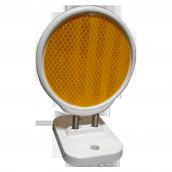 SH-D120 彈簧導標<p>說明:雙平面;可搭配紅/黃反光片