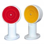 SH-D131 紐澤西護欄用斜面反光導標<p>說明:雙斜面,可搭配紅/黃反光片