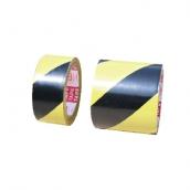 "SH-1097PVC黑黃斜紋膠帶 規格:斑馬膠帶2""/4"", 長度17米"