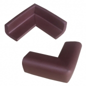 SH-RL65L 橡膠發泡軟質防護角<P>規格:主體橡膠發泡材質<P>L:6.5㎝、W:6.5㎝、H:3㎝、最厚度:1 ( 誤差±3% ) <br>另外有規格:長條形約100cmx3㎝x3㎝ <br>另外有規格:蝸牛捲約300cmx3㎝x3㎝ <br>顏色:咖啡/灰/黃